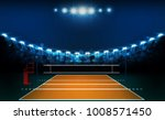 volleyball court arena field... | Shutterstock .eps vector #1008571450
