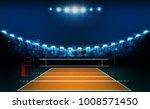 volleyball court arena field... | Shutterstock .eps vector #1008571450