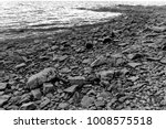 stones on the beach on the... | Shutterstock . vector #1008575518