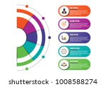 infographics design vector and... | Shutterstock .eps vector #1008588274