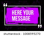innovative vector quotation... | Shutterstock .eps vector #1008595270
