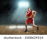 caucassian basketball player in ... | Shutterstock . vector #1008629314