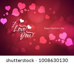 abstract happy valentine's day... | Shutterstock .eps vector #1008630130