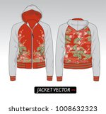 sport jacket chinese   french... | Shutterstock .eps vector #1008632323
