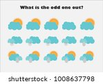 what is the odd one out with... | Shutterstock .eps vector #1008637798