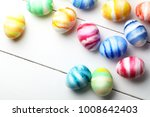 colored easter eggs | Shutterstock . vector #1008642403