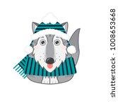 vector abstract illustration of ... | Shutterstock .eps vector #1008653668