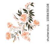 stock vector abstract hand draw ...   Shutterstock .eps vector #1008658108