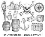 piracy stuff illustration ...   Shutterstock .eps vector #1008659404
