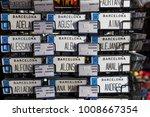 barcelona  spain   11 january... | Shutterstock . vector #1008667354