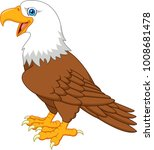 cartoon bald eagle | Shutterstock .eps vector #1008681478