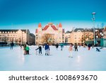 helsinki  finland   december 10 ... | Shutterstock . vector #1008693670