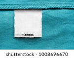 textile clothes label lettered... | Shutterstock . vector #1008696670