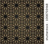 arabesque pattern square... | Shutterstock .eps vector #1008703468