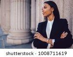 Female african american banker...