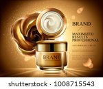 anti wrinkle cream ads ... | Shutterstock .eps vector #1008715543