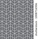 vector seamless pattern.... | Shutterstock .eps vector #1008716506