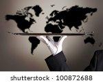 international logistics | Shutterstock . vector #100872688