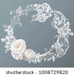ranunculus  flowers for your... | Shutterstock .eps vector #1008729820