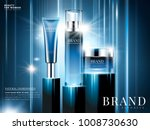 natural ingredient cosmetic ads ... | Shutterstock .eps vector #1008730630
