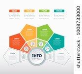 vector infographic of... | Shutterstock .eps vector #1008733000
