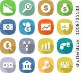 flat vector icon set   crisis... | Shutterstock .eps vector #1008735133