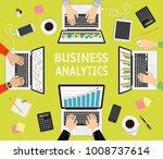 flat design illustration... | Shutterstock .eps vector #1008737614