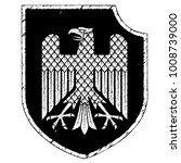 knight heraldic emblem. german... | Shutterstock .eps vector #1008739000