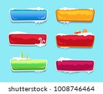 blank glossy web push buttons... | Shutterstock .eps vector #1008746464