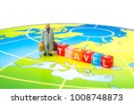 miniature people. tourism and... | Shutterstock . vector #1008748873
