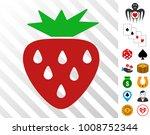 strawberry icon with bonus...