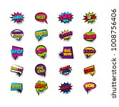 next pow goal copy woof. pop... | Shutterstock .eps vector #1008756406