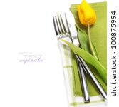 Spring Table Settings With...