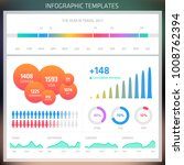 vector infographic design... | Shutterstock .eps vector #1008762394