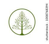 tree logo  vector logo template | Shutterstock .eps vector #1008768394