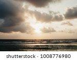 seascape  sunrise in the ocean   Shutterstock . vector #1008776980