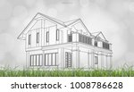 conceptual image of house... | Shutterstock .eps vector #1008786628
