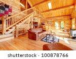 Large Luxury Log Cabin House...