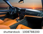 modern luxury car interior  ... | Shutterstock . vector #1008788200