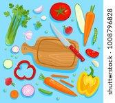bright vector illustration of... | Shutterstock .eps vector #1008796828