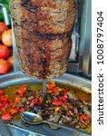 istanbul street food... | Shutterstock . vector #1008797404