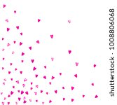 heart frame for valentines day... | Shutterstock .eps vector #1008806068