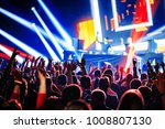nightclub dj rave party with... | Shutterstock . vector #1008807130