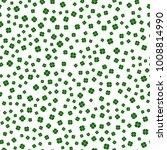 clover seamless pattern | Shutterstock .eps vector #1008814990