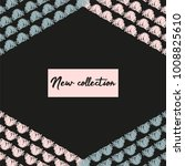 abstract fashion header or... | Shutterstock .eps vector #1008825610