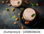 traditional indian beverage ... | Shutterstock . vector #1008838636