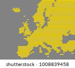 map of europe | Shutterstock .eps vector #1008839458