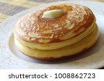japanese hotcake  pancake | Shutterstock . vector #1008862723