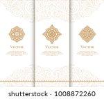 vector emblem. elegant  classic ... | Shutterstock .eps vector #1008872260