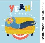 vector cartoon illustration of... | Shutterstock .eps vector #1008883213